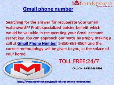 Utilize Gmail signal for any type of problems 1-850-361-8504