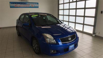 2012 Nissan Sentra SE-R (Blue Metallic)