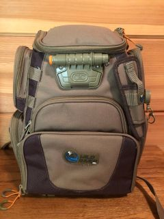Wild River Lighted Tackle Backpack w/4 3500 Trays