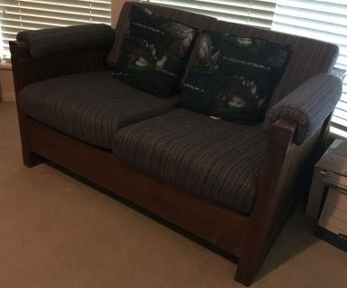 TWO-SEAT SOFA BED FROM CARGO