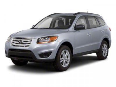 2011 Hyundai Santa Fe SE (Frost White Pearl)