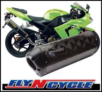 Sell Two Brothers V.A.L.E BS M-2 Carbon Slip-On Exhaust 2004 2005 Kawasaki ZX-10R motorcycle in Ashton, Illinois, US, for US $423.00
