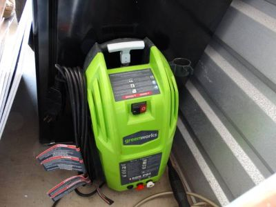 Green Works Pressure Washer