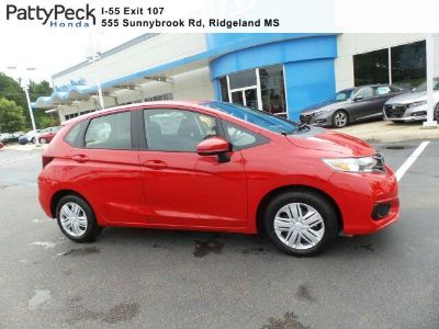 2019 Honda Fit LX FWD (Milano Red)