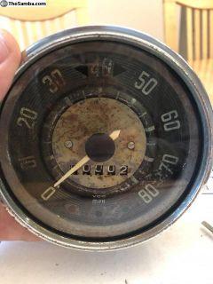 4-63 Speedo - Rat Rod resto