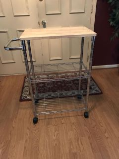 Microwave cart- excellent condition