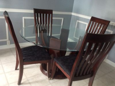Kitchen or dining table and chairs