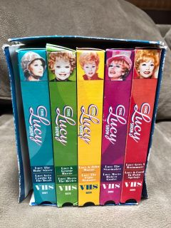 I love Lucy Collector s VHS 5 Tapes