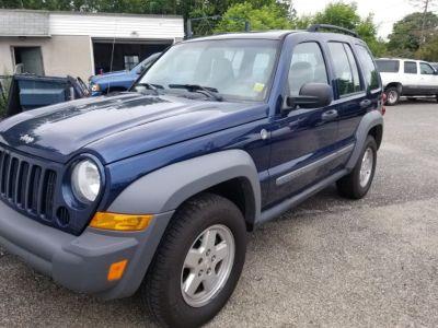 2005 Jeep Liberty Sport (Patriot Blue Pearl)