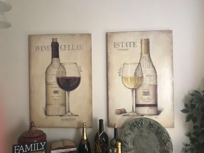 Gorgeous Wine Paintings