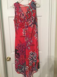 Chico s flowered dress. Size 2- L. $20