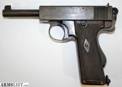For Sale/Trade: Webley and Scott MK1 455 Self loading Pistol