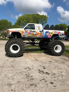 monster truck ride truck