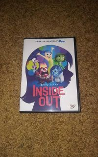 Inside out dvd like new