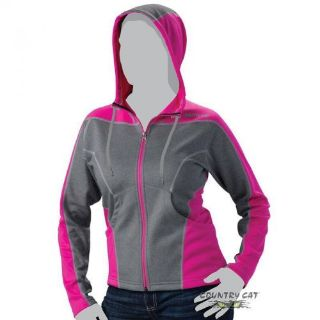 Purchase Arctic Cat Women s Aircat Performance Sweatshirt Hoodie - Gray & Pink - 5269-17_ motorcycle in Sauk Centre, Minnesota, United States, for US $41.99