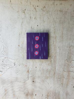 Original Art, acrylic, Three Flower.