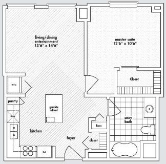 $2090 1 apartment in Downtown