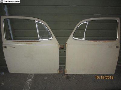 pair of 1967 bug doors #79,80