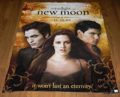 The Twilight Saga New Moon Movie Release Vinyl Like Poster