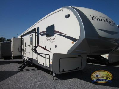 2019 Forest River Rv Cardinal Limited 3720BHLE
