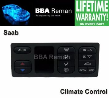 Purchase Saab Climate Control Repair Service Heater Head AC 9-3 9-5 9 3 5 93 95 900 9000 motorcycle in Taunton, Massachusetts, United States