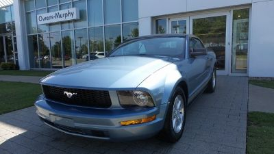 2007 Ford Mustang V6 Deluxe (Windveil Blue Clearcoat Metallic)