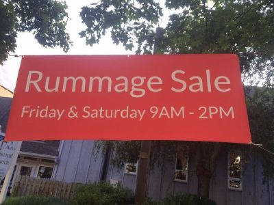 HUGE BI-ANNUAL RUMMAGE SALE