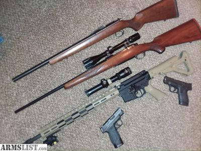 For Sale/Trade: Cz 455, Ruger M77, ASA, Shield