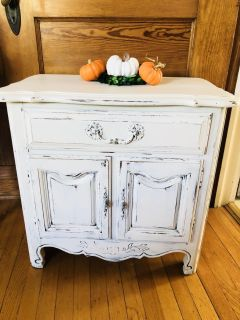 Restyled French Country Accent Table...