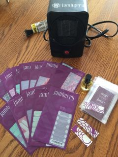 Lot of Jamberry Nails plus Dryer