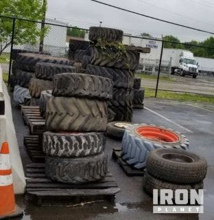 Lot of (49)Tires w/Wheels