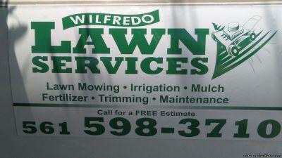 wilfredo lawn Services