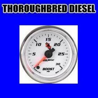 Sell Autometer Cobalt C2 Series-Boost Gauge 2-1/16 electrical full sweep 30 psi 7160 motorcycle in Winchester, KY, US, for US $192.18