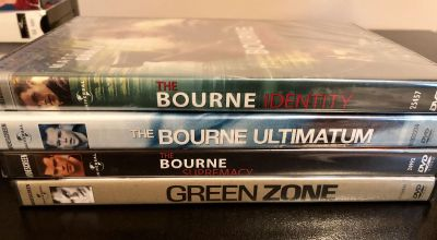 Bourne Trilogy + Green Zone New Unopened