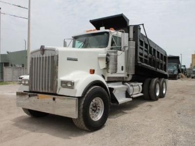 Finance a Kenworth dump truck with bad credit