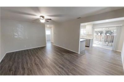 Newly renovated 900 ft 2 bed 1 bath triplex in. Washer/Dryer Hookups!