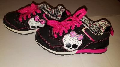 Monster High size 12 girls sneakers