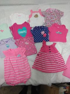 Nb to 6M girl clothes