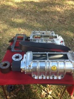 14-71 Littlefield HH blower with Manifold