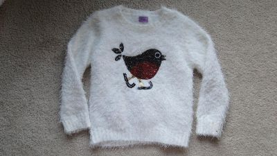 Xmas Christmas winter fluffy soft sweater pullover
