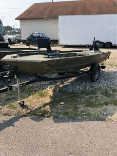 2018 Tracker Grizzly 1548 T Sportsman Jon Boats Gaylord, MI
