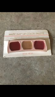 Mary Kay Lip Color Palette vintage new
