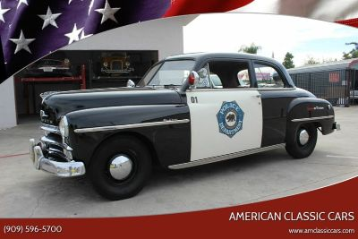 1950 Plymouth Deluxe Tribute Police Car