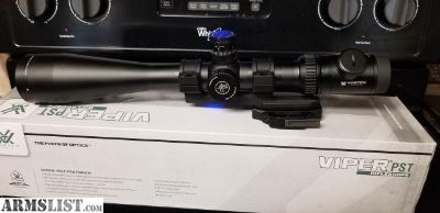 For Sale/Trade: Vortex PST 6-24 w/ bobro mount