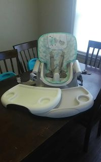 Ingenuity Space Saver Chair Top Convertible High Chair