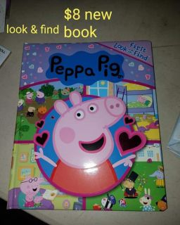 Peppa pig search and find character book