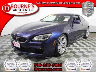 Used 2015 BMW 6 Series 2dr Cpe AWD