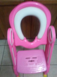 Potty seat with steps
