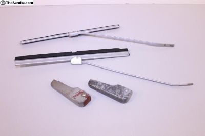 NOS SWF Oval Wipers & Used Bases