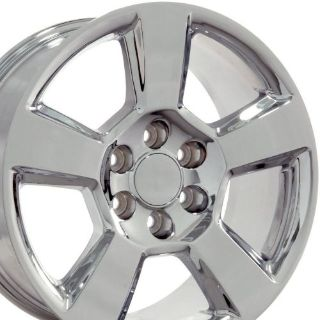 """Find 20"""" Fits Chevrolet Tahoe Style Wheels Chrome 20x9 SET W1x motorcycle in Sarasota, Florida, United States, for US $841.00"""